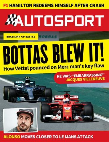 Autosport issue 16th November 2017
