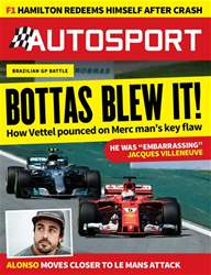 Autosport issue 16th November 2017