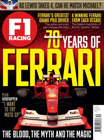 F1 Racing issue December 2017