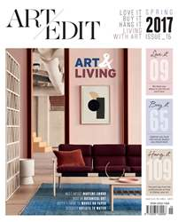 Art Edit | Spring issue 15 issue Art Edit | Spring issue 15