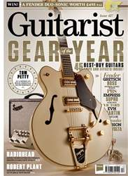Guitarist issue December 2017