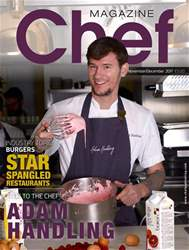 Chef Magazine issue Nov/Dec 2017