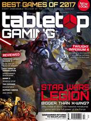 Tabletop Gaming Magazine Cover