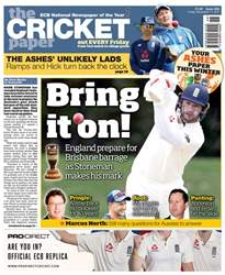 The Cricket Paper issue 17th November 2017