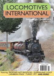 Locomotives International issue Issue 111 - December January 2018