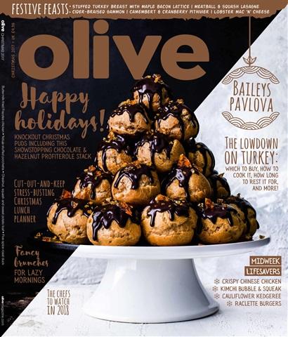 Olive Magazine issue Christmas 2017