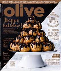Olive Magazine issue Christmas 2017