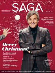 Saga Magazine issue December 2017