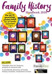 Family History Handbook 2018 issue Family History Handbook 2018