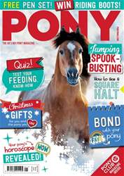 PONY magazine – January 2018 issue PONY magazine – January 2018
