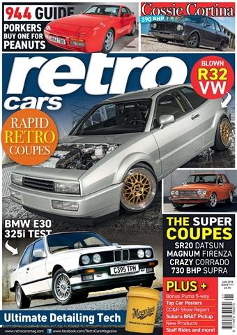 Retro Cars issue January 2018