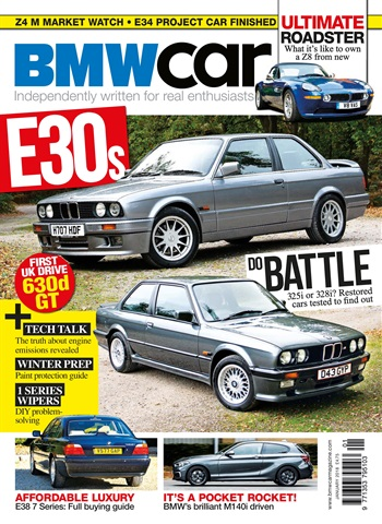 BMW Car issue January 2018