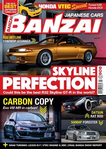 Banzai issue January 2018