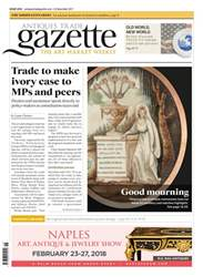 Antiques Trade Gazette issue 2318