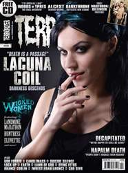 Terrorizer 219 February 2012 issue Terrorizer 219 February 2012