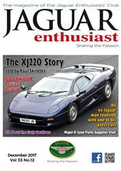 Jaguar Enthusiast issue December 2017