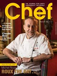 Chef Magazine Magazine Cover