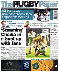 The Rugby Paper issue 19th November 2017