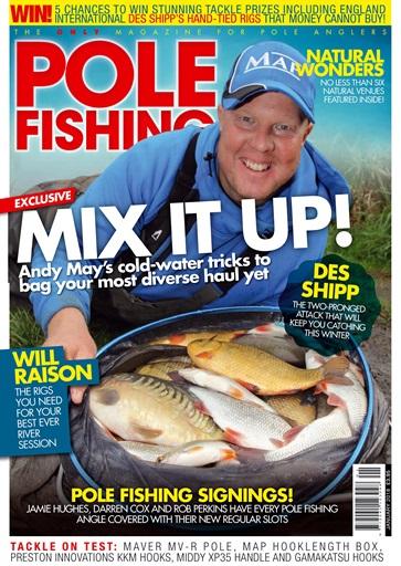 Pole fishing magazine january 2018 subscriptions for Fishing magazine subscription