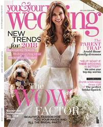 You & Your Wedding issue December and January 2018