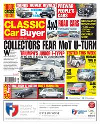 Classic Car Buyer issue 22 November 2017