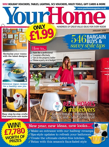 Your Home Magazine issue January 2018