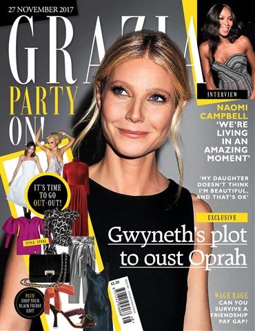 Grazia issue 27th November 2017