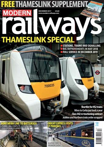 Modern Railways issue   December 2017