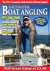 Saltwater Boat Angling issue Dec-17