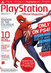 Playstation Official Magazine (UK Edition) issue Xmas 2017