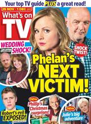 What's on TV issue 25th November 2017