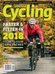 Canadian Cycling Magazine issue Volume 8 Issue 6