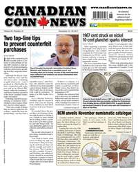 Canadian Coin News issue V55#18 - December 12
