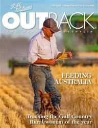 OUTBACK Magazine Magazine Cover
