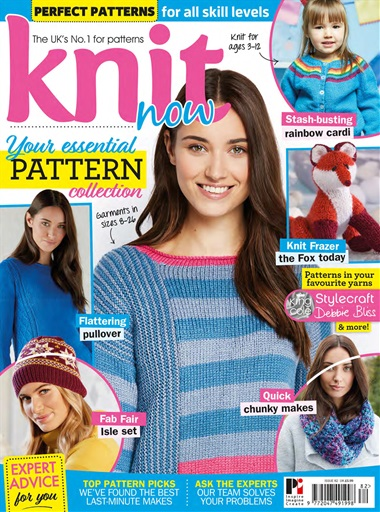 Knit Now Magazine Issue 82 Subscriptions Pocketmags
