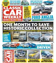 Classic Car Weekly issue 22nd November 2017