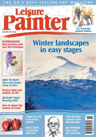 Leisure Painter issue Jan-18