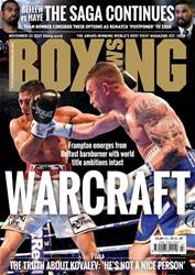 Boxing News issue 21/11/2017
