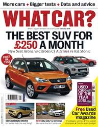 What Car Magazine issue January 2018