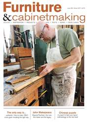 Furniture & Cabinetmaking issue Winter 2017