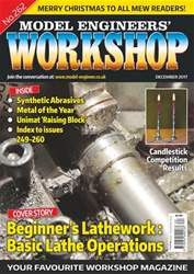 Model Engineers' Workshop Magazine issue Dec 17