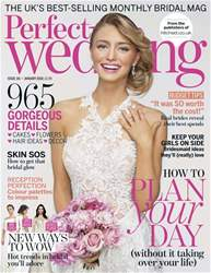Perfect Wedding Magazine Cover
