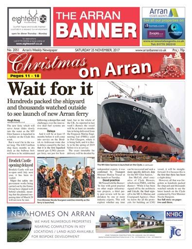 Arran Banner Preview