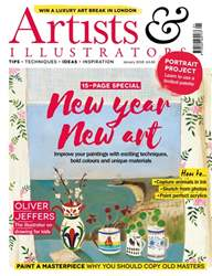 Artists & Illustrators issue jan18