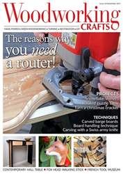 Woodworking Crafts Magazine issue December 2017
