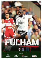 Fulham FC issue Fulham v Millwall 2017/18