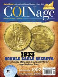 COINage issue December 2017
