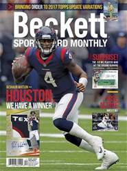 Sports Card Monthly issue December 2017