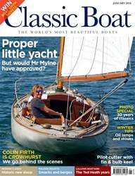 Classic Boat issue January 2018