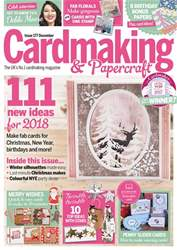 Cardmaking & Papercraft issue January 2018